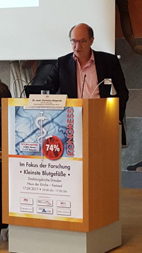 Dr. Klaproth , Gefäßklinik Husum
